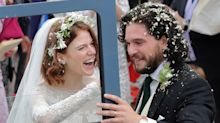 """""""Game Of Thrones"""" : tous les acteurs réunis pour le mariage de Jon Snow"""