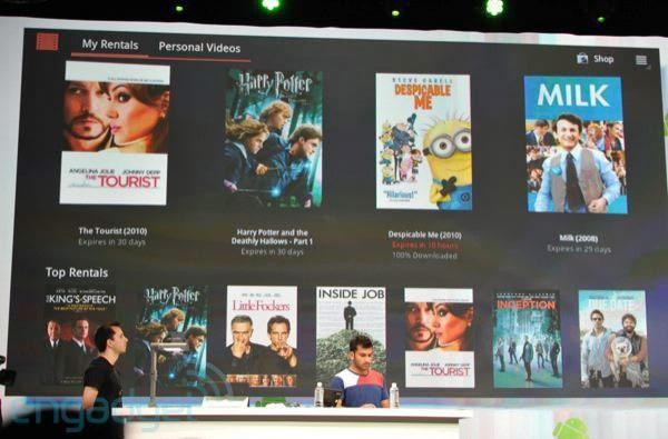 YouTube and Google Movies rentals can be consumed on either platform
