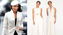 Meghan Markle's designer friend might have just dropped a huge royal wedding hint
