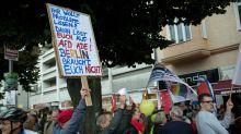 Rechter Aufmarsch: Linke Gruppen trainieren Blockade von AfD-Demo in Berlin