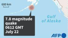Brief tsunami warning as 7.8 quake hits off Alaska: USGS