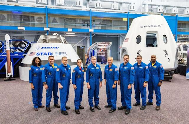 NASA announces astronauts for first Commercial Crew missions