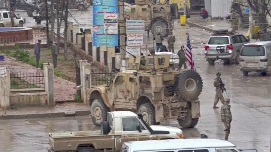U.S. troops killed in bomb blast in northern Syria