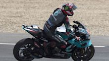Quartararo takes pole, Marc Marquez out of Andalusia Grand Prix