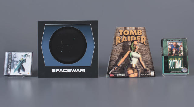 Video Game Hall of Fame inducts 'Tomb Raider' and 'Final Fantasy VII'