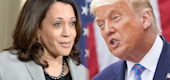 Kamala Harris and President Trump (Yahoo)