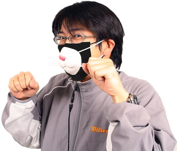 Thanko's USB kitty mask might get you noticed