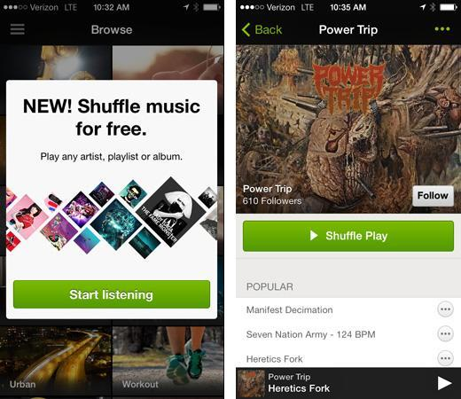 Spotify for iOS gets its promised free, shuffle-based music streaming (updated)