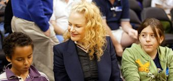 Kidman: Her kids with Cruise have chosen Scientology