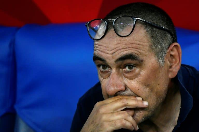 Maurizio Sarri spent just one season as Juventus coach
