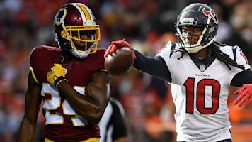 Follow live: Texans tangle with Redskins