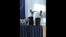 Professora é presa e arrastada por policiais dentro de igreja no MT; assista