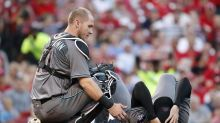 Robbie Ray suffers concussion after being hit by 108 mph line drive