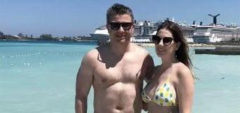 Couple's awkward bikini mistake goes viral: 'Oops'