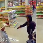 WATCH: Hero cowboy thwarts armed robbery in convenience store