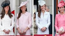 Every outfit Kate Middleton has worn to Trooping the Colour