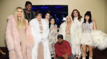 Everything the Kardashians Looked Like at the Yeezy Season 3 Launch