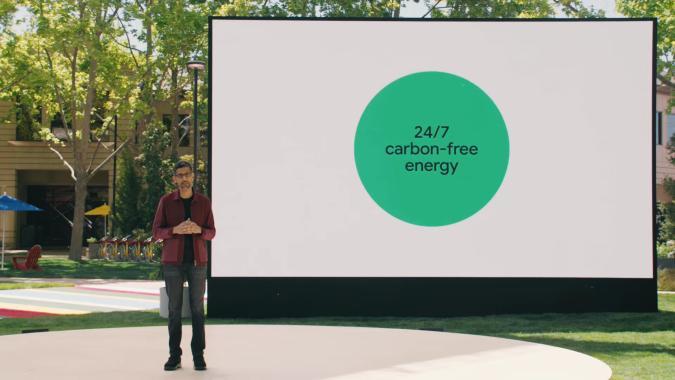 Google carbon-free energy plan