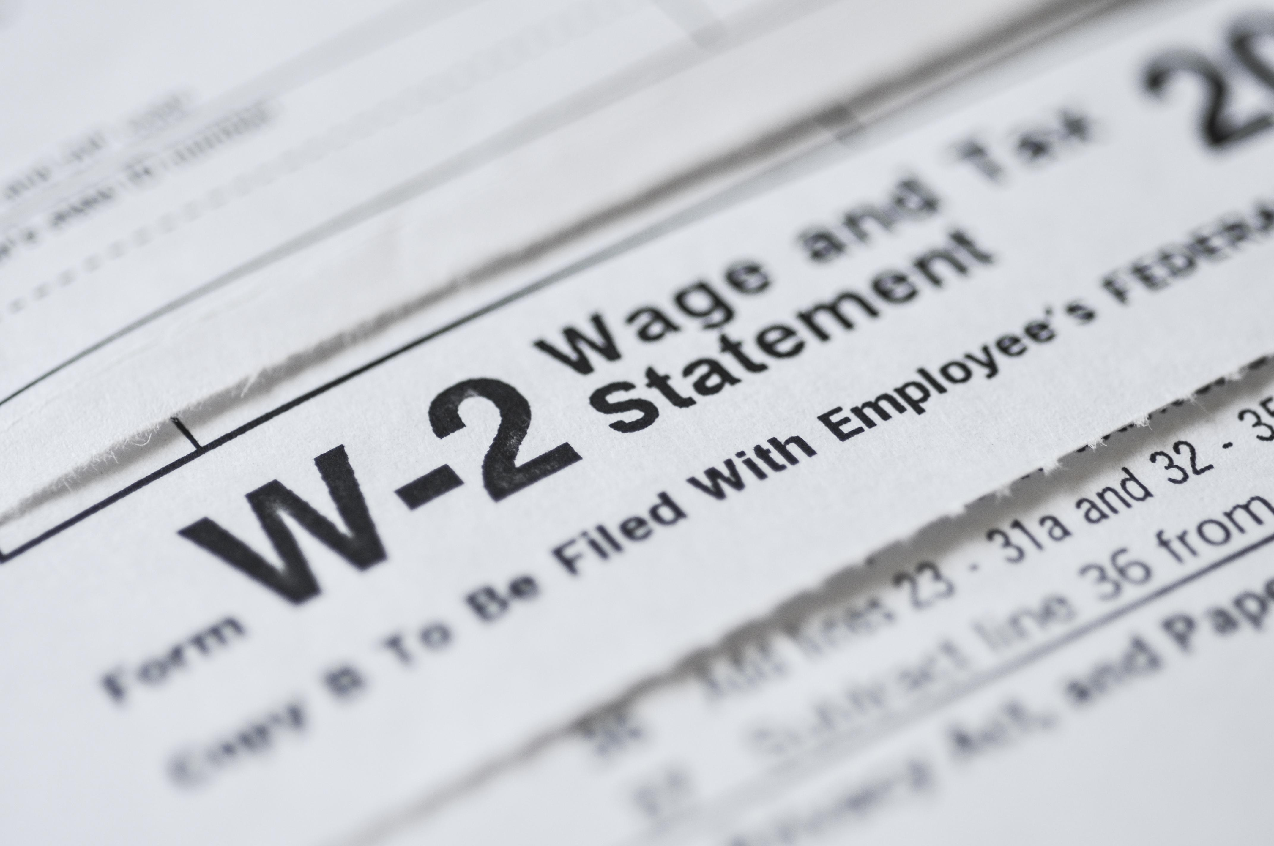 Lost Your W-2? Here\'s What to Do