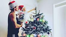Ryan Dorsey Shares Touching Photo of Son Josey, 5, Helping Him Decorate Their Christmas Tree