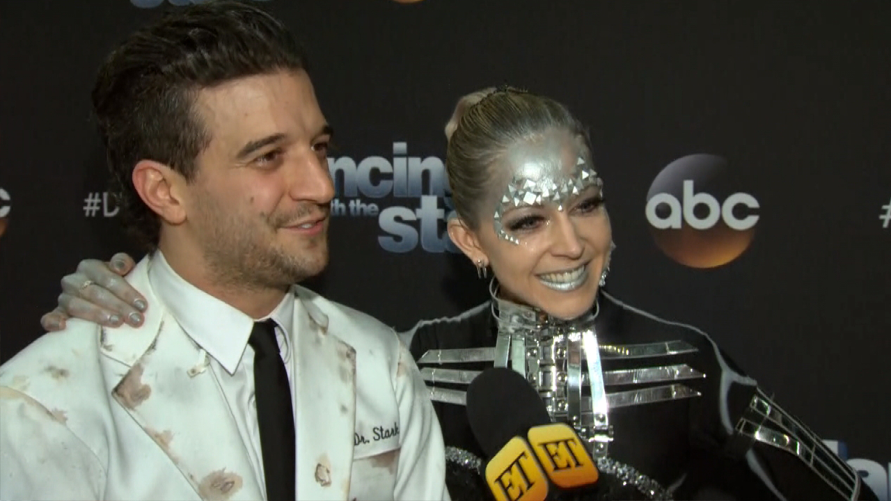 Lindsey Stirling and Mark Ballas Land Their First Perfect Score on 'DWTS': 'We Nailed It!' (Exclusive)