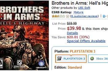 Deal of the Night: Brothers in Arms: Hell's Highway at $40