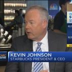 Starbucks CEO Kevin Johnson: We're going to create shareh...