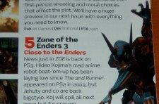 Fans of Kojima and Zone of the Enders rejoice! A third is born...