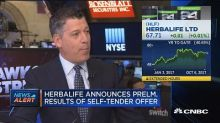 Herbalife announces preliminary results of self-tender of...