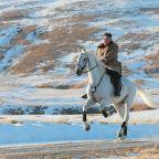 Kim Jong-un gallops up sacred mountain in show of power