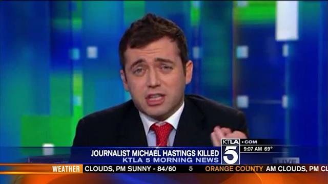 Journalist Michael Hastings Dies in Fiery Hollywood Crash