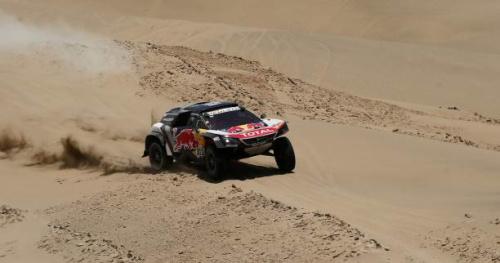 Rallye-raid - Dakar - Autos - Carlos Sainz gagne la 7e étape et devient leader, Stéphane Peterhansel perd 1h45