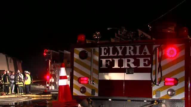 Elyria apartment complex fire