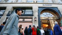 Burberry's new designs prove a hit, make up for Hong Kong woes