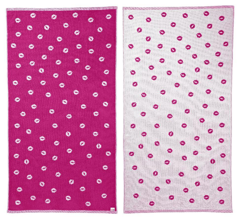 This product image released by One Kings Lane shows a Chrissie Miller reversible beach blanket. Online retailer One King's Lane has partnered with a number of well-known designers on a beach towel collection that rolls out through the summer. Proceeds support the designers' preferred charities, including Alpha Workshops, which helps HIV-AIDS victims, and Baby2Baby, which assists Los Angeles families in need. (AP Photo/One Kings Lane)