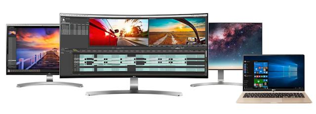 LG unveils next year's monitors and laptops ahead of CES