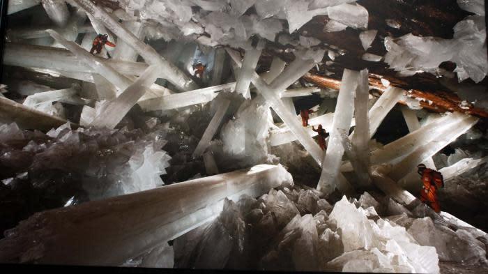 Des micro-organismes âgés de 60 000 ans découverts par la Nasa dans des cristaux