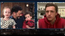 Tom Holland Surprises Jimmy Kimmel's Son for His 3rd Birthday as Spider-Man (Video)