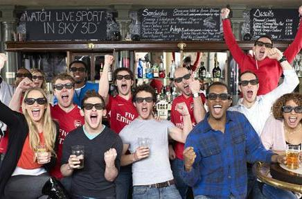 3D TV coming to British pubs this weekend, can expect chilly reception