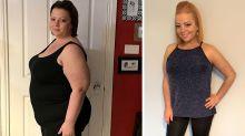Mum drops an incredible 55kg before turning 50