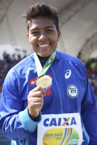 Geisa Arcanjo ratifica índice para o Mundial de Atletismo
