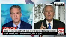 White House Chief Of Staff Mark Meadows: 'We're Not Going To Control The Pandemic'