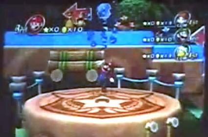 Fuzzy new Mario Party 8 screens