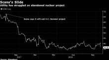 Scana Drops Most Since 1987 on Concern Over Nuclear Costs
