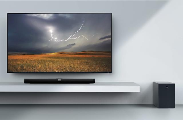 TCL's first soundbars ship this spring