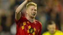 De Bruyne joins up with Belgium squad