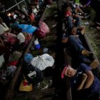 Migrant caravan halted on Mexico-Guatemala border, pressure to turn back mounts