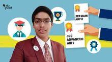 JEE Advanced Topper Chirag Falor Reveals His Recipe for Success