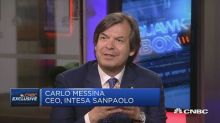 Italy is in good shape, Intesa Sanpaolo CEO says
