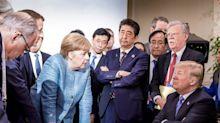 Donald Trump threw sweets to Angela Merkel at G7 summit, told her 'don't say I never give you anything'